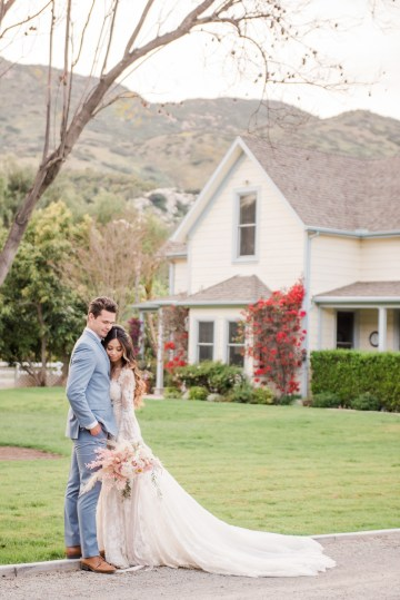 Pink Boho Farm Wedding Inspiration filled with Pretty Details – Carrie McCluskey Photo 24