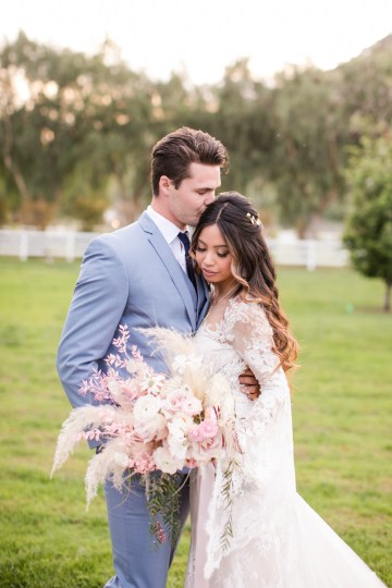 Pink Boho Farm Wedding Inspiration filled with Pretty Details – Carrie McCluskey Photo 25