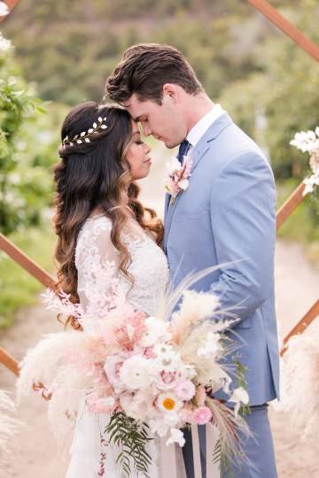 Pink Boho Farm Wedding Inspiration filled with Pretty Details – Carrie McCluskey Photo 7