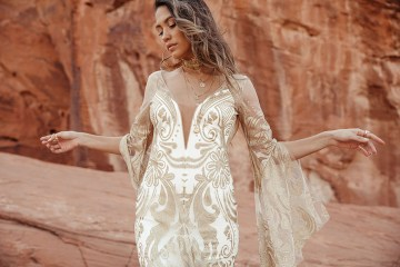 Rue de Seine Moonrise Canyon Wedding Dress Collection – Dolly Gown 7