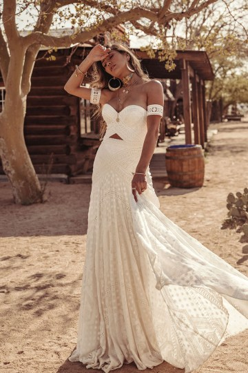 Rue de Seine Moonrise Canyon Wedding Dress Collection – Knoxville Gown 7