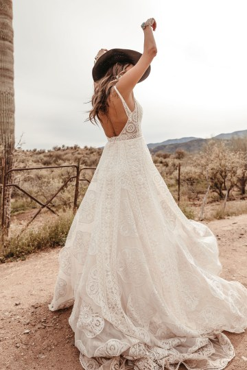 Rue de Seine Moonrise Canyon Wedding Dress Collection – Sedona Gown 4