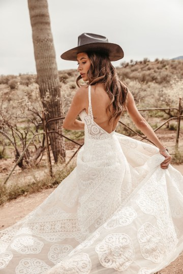Rue de Seine Moonrise Canyon Wedding Dress Collection – Sedona Gown 5