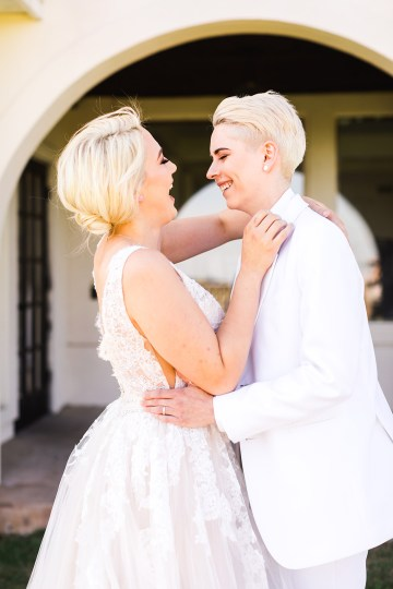 Same Sex Spanish Inspired San Antonio Wedding Inspiration – Xiaoqi Li Photography 17