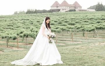 Southern Black-Tie Winery Wedding