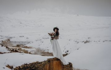 Wild Winter Bridal Inspiration From Iceland