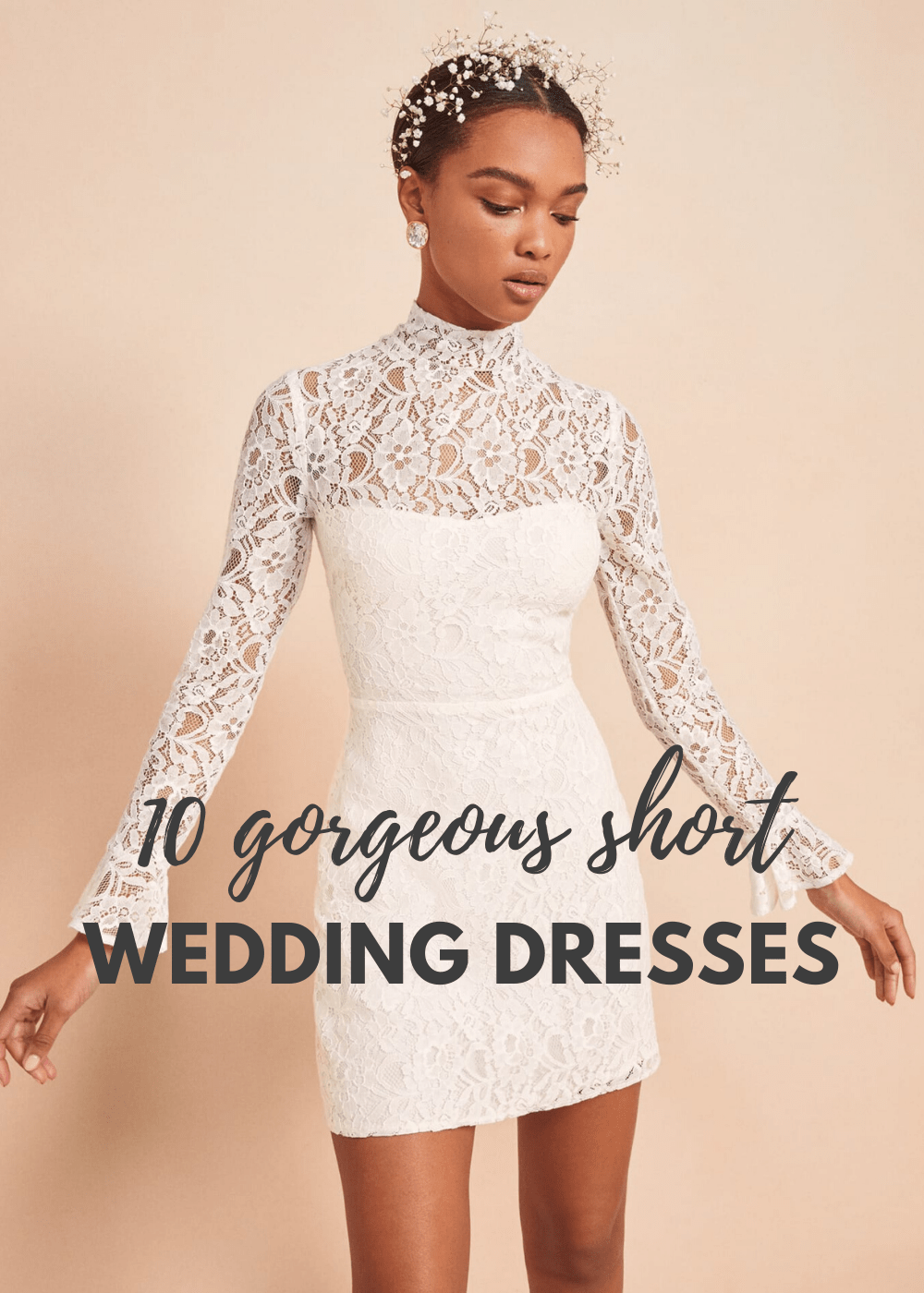Top 10 Short Wedding Dresses Bridal Musings Wedding Blog