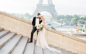 Elegant Quintessentially Parisian Elopement Inspiration
