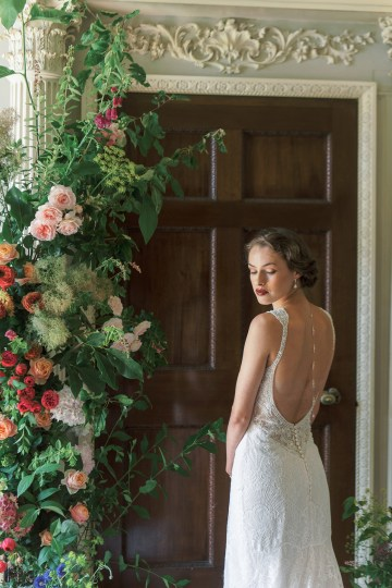 Glamorous Downton Abbey Wedding Inspiration – Cooper Photography 16