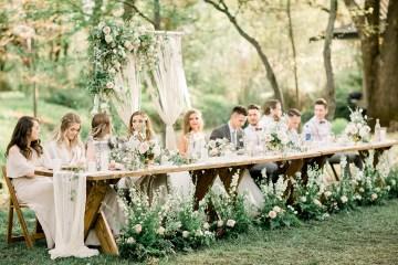 Whimsical Floral-Filled Woodland Wedding – Walnut and Main – Irina Turkova Photography 72