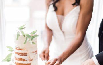 Adorable Loft Wedding Inspiration with a Cotton Candy Cart – Grey Garden Creative 35