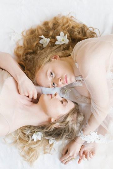 Artistic Renaissance Botticelli Same Sex Wedding Inspiration – Irene Fucci 19