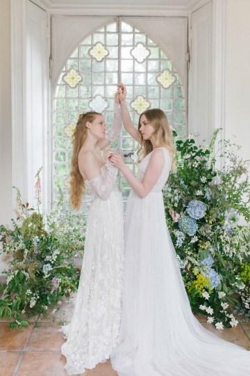 Artistic Renaissance Botticelli Same Sex Wedding Inspiration – Irene Fucci 37