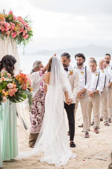 Breathtaking Cultural Polynesian Wedding on the Beaches of Hawaii – Joseph Esser 37