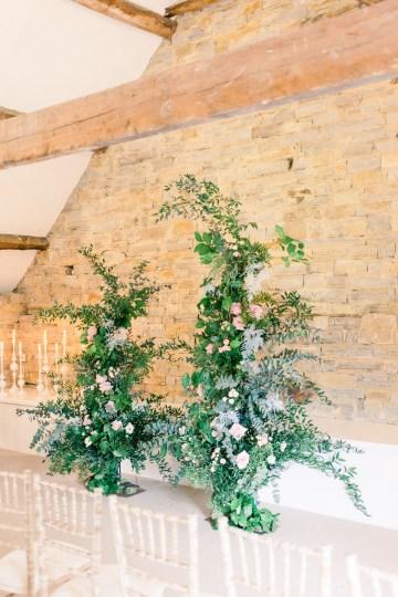 Pretty Pink Almonry Barn Wedding Inspiration – Liz Baker Photography 10
