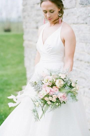 Pretty Pink Almonry Barn Wedding Inspiration – Liz Baker Photography 20