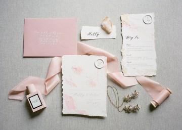Pretty Pink Almonry Barn Wedding Inspiration – Liz Baker Photography 41