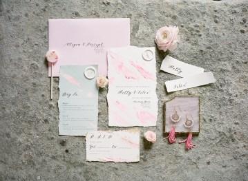 Pretty Pink Almonry Barn Wedding Inspiration – Liz Baker Photography 43
