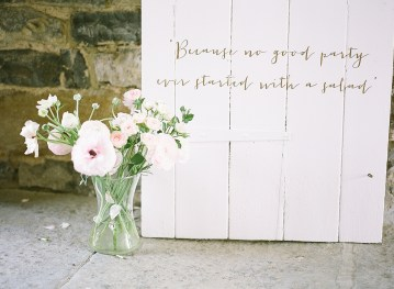 Pretty Pink Almonry Barn Wedding Inspiration – Liz Baker Photography 47