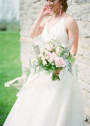 Pretty Pink Almonry Barn Wedding Inspiration – Liz Baker Photography 48
