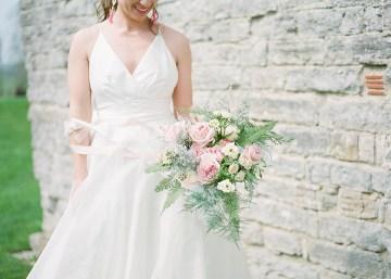 Pretty Pink Almonry Barn Wedding Inspiration – Liz Baker Photography 49