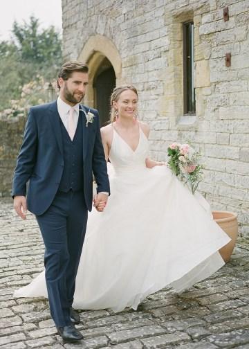 Pretty Pink Almonry Barn Wedding Inspiration – Liz Baker Photography 50