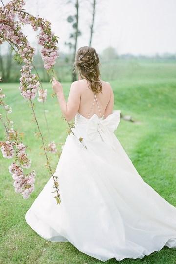 Pretty Pink Almonry Barn Wedding Inspiration – Liz Baker Photography 56