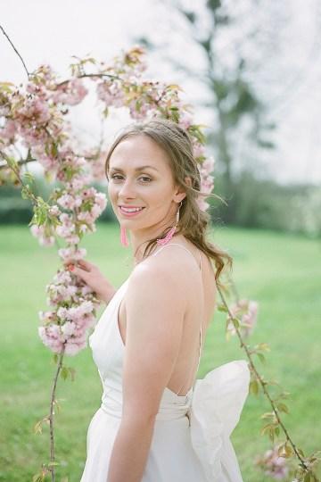 Pretty Pink Almonry Barn Wedding Inspiration – Liz Baker Photography 58