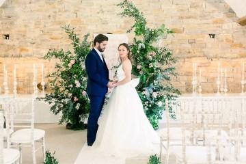 Pretty Pink Almonry Barn Wedding Inspiration – Liz Baker Photography 6