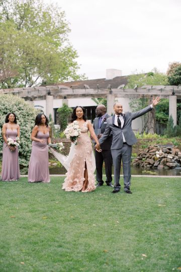 Pretty Texas Garden Wedding With A Blush Pink Wedding Dress – Deven Ashley 23