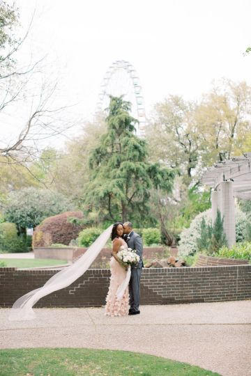 Pretty Texas Garden Wedding With A Blush Pink Wedding Dress – Deven Ashley 26