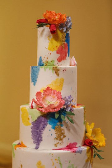 Regal and Colorful Indian Wedding with Watercolor Details – Chris Taylor 35
