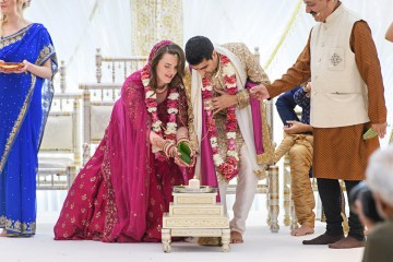 Regal and Colorful Indian Wedding with Watercolor Details – Chris Taylor 6