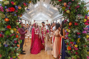 Regal and Colorful Indian Wedding with Watercolor Details – Chris Taylor 7