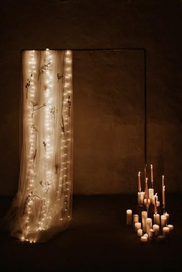 Candlelit Wedding Inspiration With Pretty Fairy Lights – Lauren Pretorius Photography 12