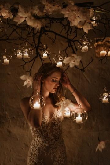 Candlelit Wedding Inspiration With Pretty Fairy Lights – Lauren Pretorius Photography 17