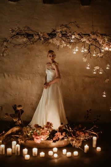 Candlelit Wedding Inspiration With Pretty Fairy Lights – Lauren Pretorius Photography 27