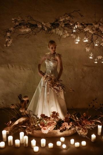 Candlelit Wedding Inspiration With Pretty Fairy Lights – Lauren Pretorius Photography 30