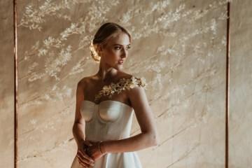Candlelit Wedding Inspiration With Pretty Fairy Lights – Lauren Pretorius Photography 7
