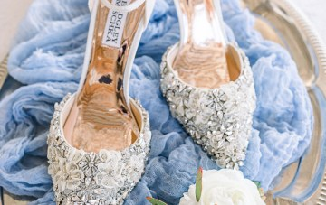 Dusty Blue Meadow Wedding Inspiration – Gracious Company 8