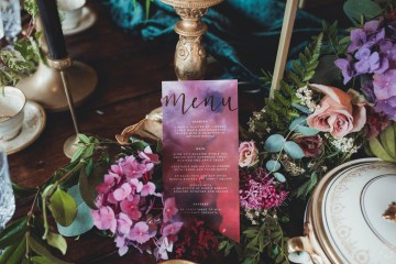 Opulent Barn Holiday Wedding Inspiration – Kerry Ann Duffy Photography 1