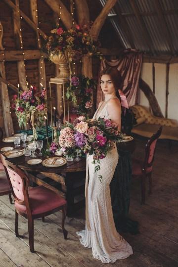 Opulent Barn Holiday Wedding Inspiration – Kerry Ann Duffy Photography 21