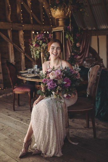 Opulent Barn Holiday Wedding Inspiration – Kerry Ann Duffy Photography 26