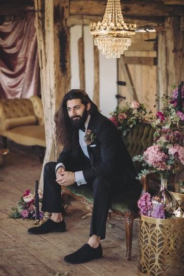 Opulent Barn Holiday Wedding Inspiration – Kerry Ann Duffy Photography 33