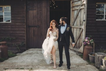 Opulent Barn Holiday Wedding Inspiration – Kerry Ann Duffy Photography 6