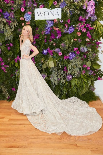 Showstopping Dazzling WONA Bridal Wedding Dresses – NYC Showroom 4