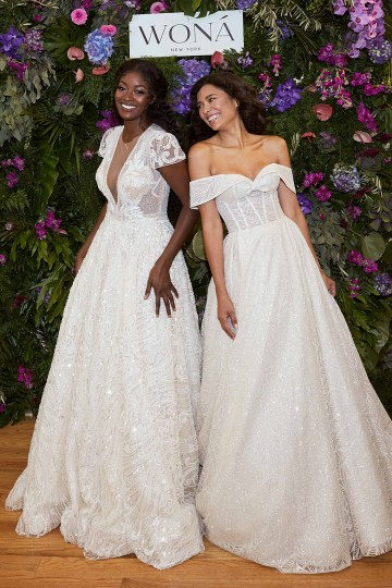 Showstopping Dazzling WONA Bridal Wedding Dresses – NYC Showroom 6
