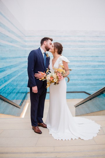 Blue Ombre and Lucite 2020 Wedding Ideas – Penelope Lamore 11