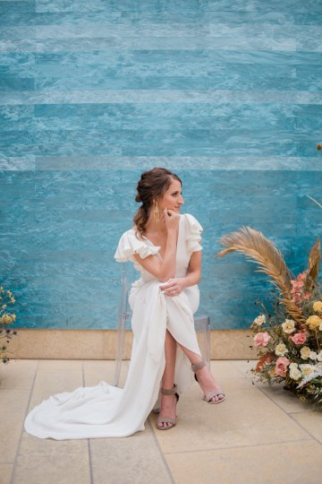 Blue Ombre and Lucite 2020 Wedding Ideas – Penelope Lamore 23
