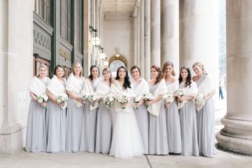 Gorgeous Green and Pink Chicago Ballroom Wedding – Clary Pfeiffer Photography – LOLA Event Productions 2